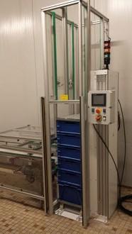 Empileur dépileur de bacs 200 kg par côté - Devis sur Techni-Contact.com - 5