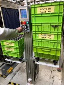 Empileur dépileur de bacs 200 kg par côté - Devis sur Techni-Contact.com - 6