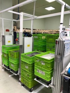 Empileur dépileur de bacs 200 kg par côté - Devis sur Techni-Contact.com - 7