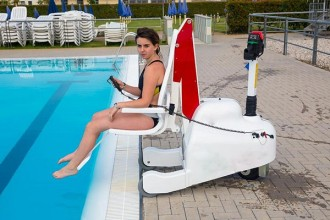 Elevateur mobile handicapé piscine - Devis sur Techni-Contact.com - 2
