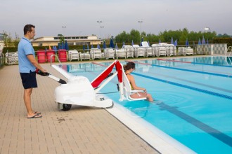Elevateur mobile handicapé piscine - Devis sur Techni-Contact.com - 4