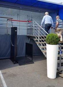 Plateforme élévatrice verticale - Devis sur Techni-Contact.com - 1