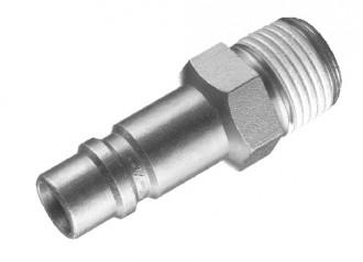 Embout fileté mâle conique pour raccord rapide - Devis sur Techni-Contact.com - 1