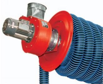 Enrouleur d'aspiration pour gaz - Devis sur Techni-Contact.com - 2