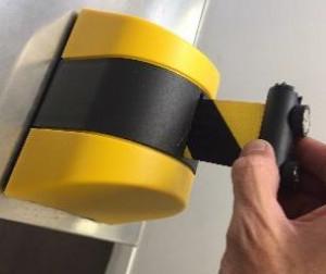 Enrouleur mural pour signalisation - Devis sur Techni-Contact.com - 1