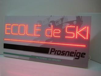 Enseigne lumineuse LED - Devis sur Techni-Contact.com - 4