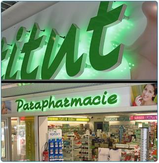 Enseigne magasin retro-éclairée - Devis sur Techni-Contact.com - 1