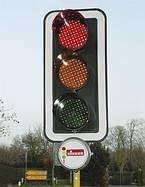 Ensemble de feux tricolores à quartz LZA 400 - Devis sur Techni-Contact.com - 1