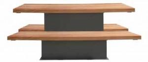 Ensemble table et bancs 2300 mm - Devis sur Techni-Contact.com - 1
