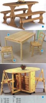 Ensemble table et chaise - Devis sur Techni-Contact.com - 1