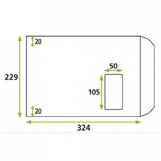 Enveloppe avec fenêtre mécanisable - Devis sur Techni-Contact.com - 1