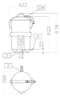 Eplucheuse à cuve amovible - Devis sur Techni-Contact.com - 2