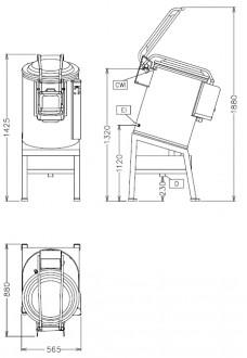 Eplucheuse à pomme de terre professionnelle - Devis sur Techni-Contact.com - 2