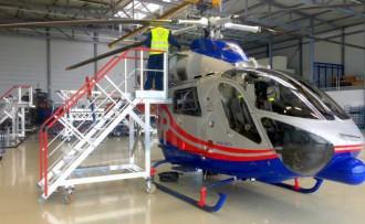 Escabeau de maintenance hélicoptère - Devis sur Techni-Contact.com - 2