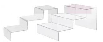 Escalier acrylique transparent 3 marches - Devis sur Techni-Contact.com - 2