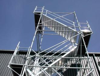 Escalier d'accès en échafaudage - Devis sur Techni-Contact.com - 1