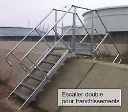 Escalier industriel double accès - Devis sur Techni-Contact.com - 1