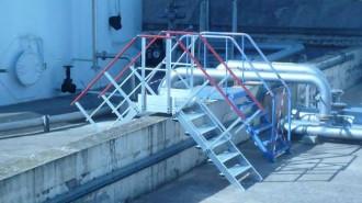 Escalier industriel double accès - Devis sur Techni-Contact.com - 2