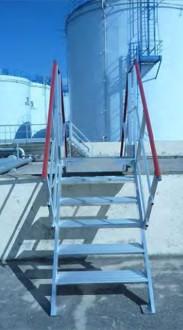 Escalier industriel double accès - Devis sur Techni-Contact.com - 3