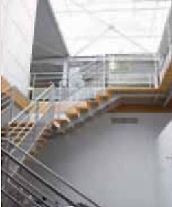 Escalier intérieur alu avec marches en bois - Devis sur Techni-Contact.com - 2