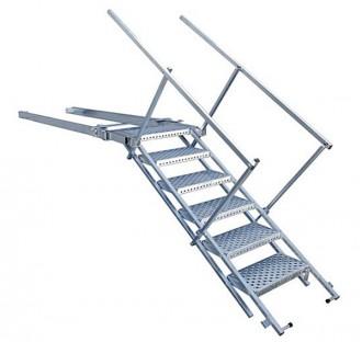 Escalier utilitaire escamotable - Devis sur Techni-Contact.com - 1