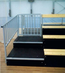 Escaliers d'accès 2 rangs - Devis sur Techni-Contact.com - 2