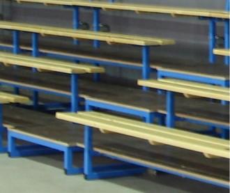 Escaliers d'accès 4 rangs - Devis sur Techni-Contact.com - 1