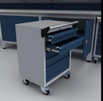 Établi armoire complet professionnel 3700 mm - Devis sur Techni-Contact.com - 4