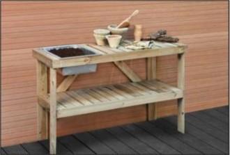 Établi jardin en bois - Devis sur Techni-Contact.com - 1