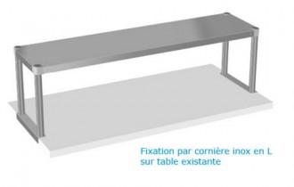 Etagère inox à fixer sur table - Devis sur Techni-Contact.com - 2