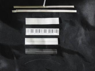 Etiquette antivol électromagnétique sur adhésif blanc - Devis sur Techni-Contact.com - 2