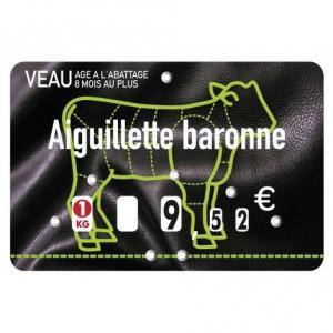 Etiquette boucherie 8 x 12 cm - Devis sur Techni-Contact.com - 3