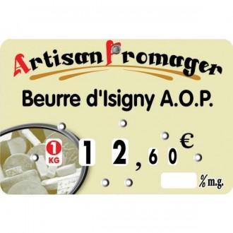 Etiquette crémerie fromagerie - Devis sur Techni-Contact.com - 1