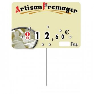 Etiquette crémerie fromagerie - Devis sur Techni-Contact.com - 2