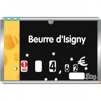 Etiquette crémerie fromagerie à pique inoxydable - Devis sur Techni-Contact.com - 2