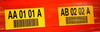 Étiquette de signalisation sur longerons - Devis sur Techni-Contact.com - 1