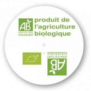 Etiquette discinfo agriculture biologique - Devis sur Techni-Contact.com - 1