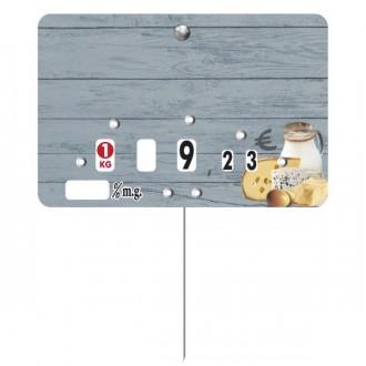 Étiquette fromagerie crèmerie - Devis sur Techni-Contact.com - 1