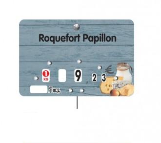 Étiquette fromagerie crèmerie - Devis sur Techni-Contact.com - 2
