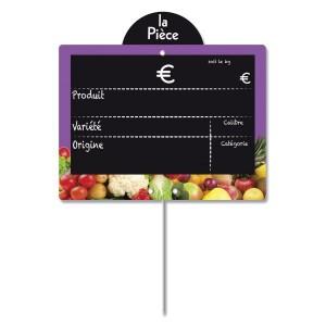 Etiquette fruits et légumes à disque poids - Devis sur Techni-Contact.com - 2