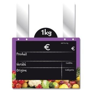 Etiquette fruits et légumes à disque poids - Devis sur Techni-Contact.com - 3