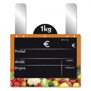Etiquette fruits et légumes à disque poids - Devis sur Techni-Contact.com - 4