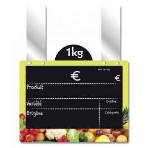 Etiquette fruits et légumes à disque poids - Devis sur Techni-Contact.com - 5