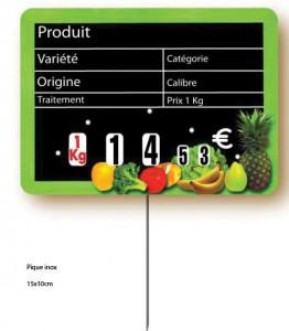 Etiquette magasin pour fruits et légumes - Devis sur Techni-Contact.com - 2