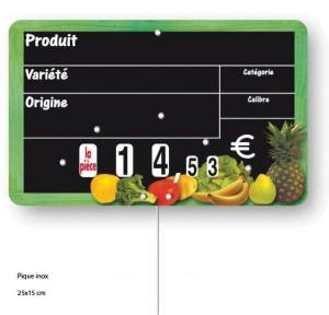 Etiquette magasin pour fruits et légumes - Devis sur Techni-Contact.com - 3