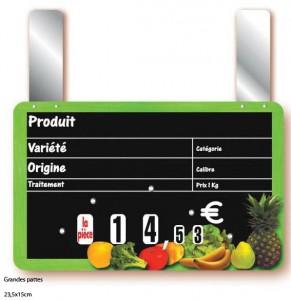 Etiquette magasin pour fruits et légumes - Devis sur Techni-Contact.com - 4