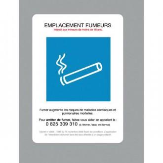 Etiquette pancarte adhésive interdiction de fumer - Devis sur Techni-Contact.com - 2