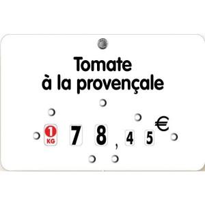 Etiquette pique prix pour boucheries - Devis sur Techni-Contact.com - 1