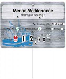 Étiquette poissonnerie 4 roulettes prix - Devis sur Techni-Contact.com - 1