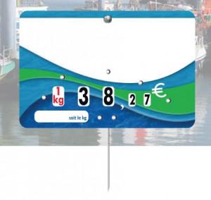 Etiquette poissonnerie huîtres - Devis sur Techni-Contact.com - 3